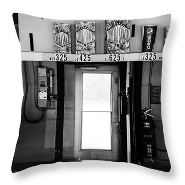 Concessions Throw Pillow