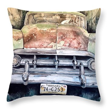 Condon's Coupe Throw Pillow by Lance Wurst