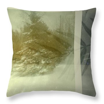 Continues Throw Pillow