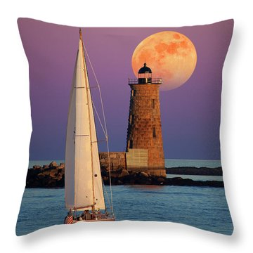 Throw Pillow featuring the photograph Convergence by Larry Landolfi