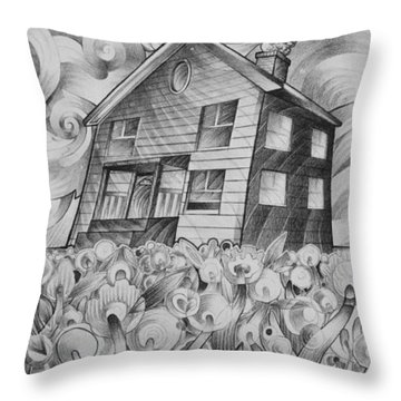 Cool Spring Night Throw Pillow