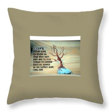 Cope Throw Pillow