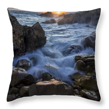 Throw Pillow featuring the photograph Corona Del Mar by Sean Foster