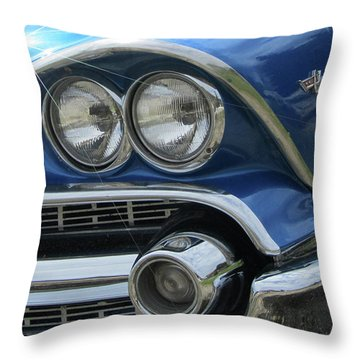 Coronet Eyes Throw Pillow
