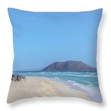 Corralejo - Fuerteventura Throw Pillow