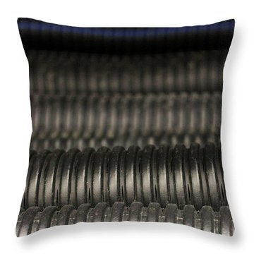 Corrugated Drain Pipe-deep Throw Pillow
