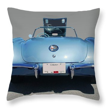Corvette Throw Pillow