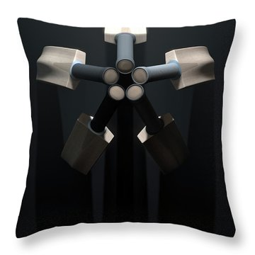 Cricket Back Circle Dramatic Throw Pillow by Allan Swart