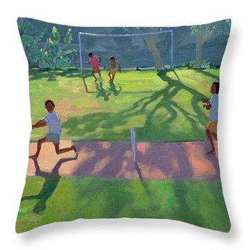 Cricket Sri Lanka Throw Pillow