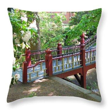 Crim Dell Bridge IIi Throw Pillow