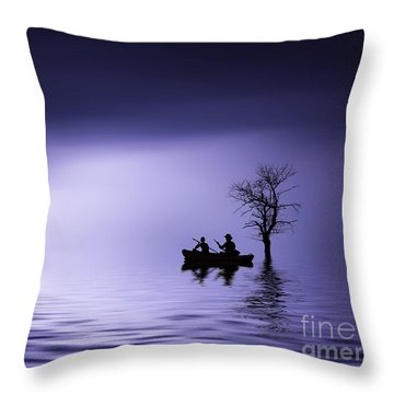 Throw Pillow featuring the photograph Cruise by Bess Hamiti