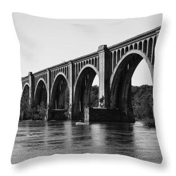 Csx A-line Bridge Throw Pillow