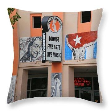 Cubacho Lounge Throw Pillow