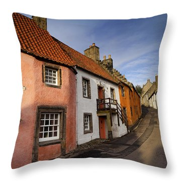 Culross Throw Pillow by Jeremy Lavender Photography