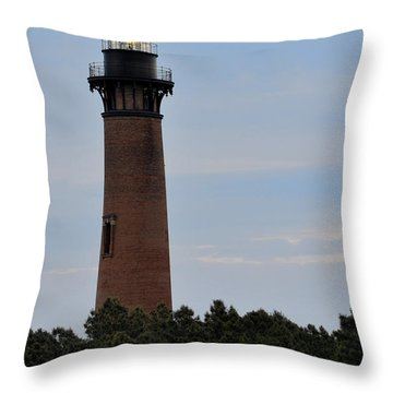 Curritucks Light Throw Pillow