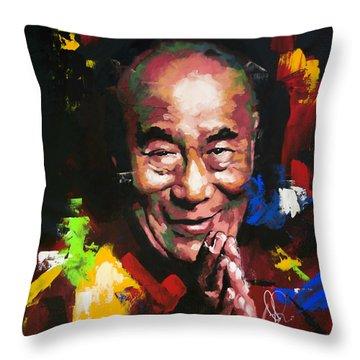 Lama Throw Pillows