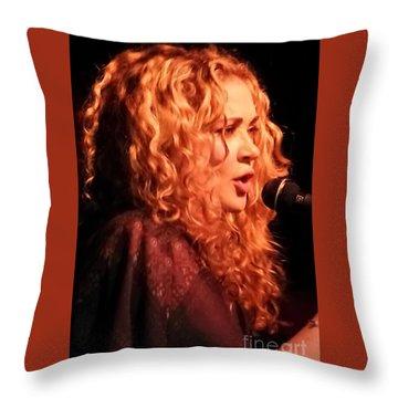 Dana Fuchs Throw Pillow
