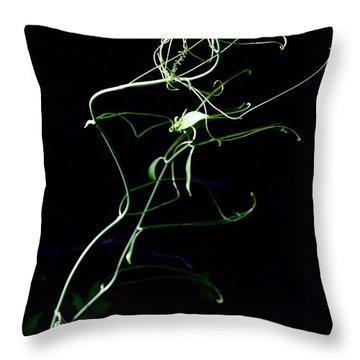 Dancing Vine Throw Pillow