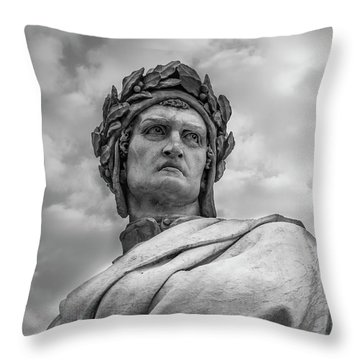Dante Alighieri Throw Pillow