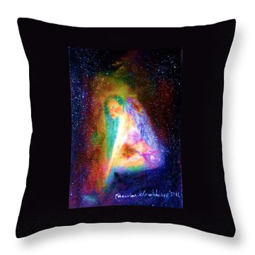 Dark Angle Throw Pillow