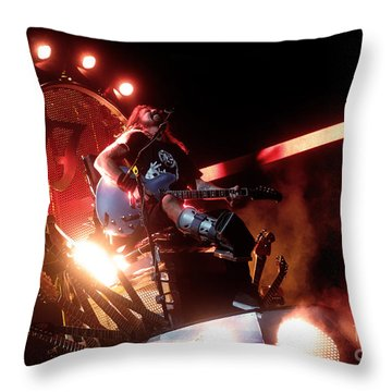 Dave Grohl - Foo Fighters Throw Pillow