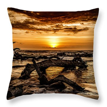 Dawn's First Light Throw Pillow