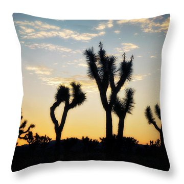 Joshua Tree National Park Throw Pillows