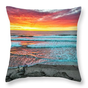 Day's Done Throw Pillow