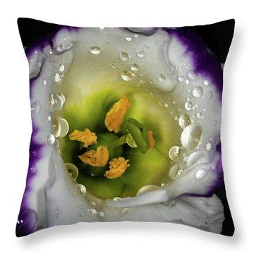 Deep Inside Throw Pillow