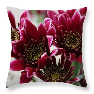 Deeper Purple Throw Pillow