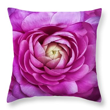 Andrew Bloom Throw Pillows