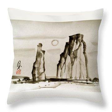 Desert 15050050fy Throw Pillow