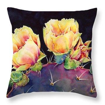 Desert Bloom 2 Throw Pillow