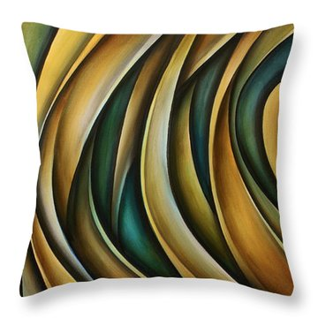 Design 1 Throw Pillow by Michael Lang