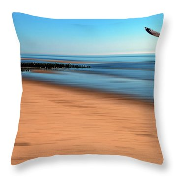 Throw Pillow featuring the photograph Desire Light  by Hannes Cmarits