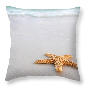 Destin Florida Miramar Beach Starfish Throw Pillow