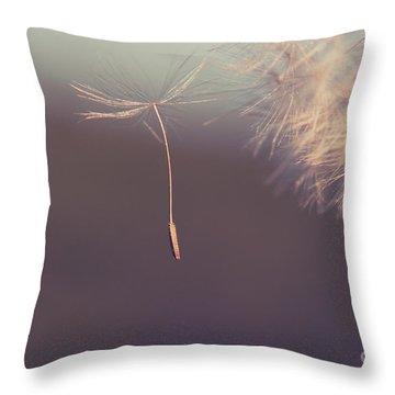 Throw Pillow featuring the photograph Detachement by Aimelle
