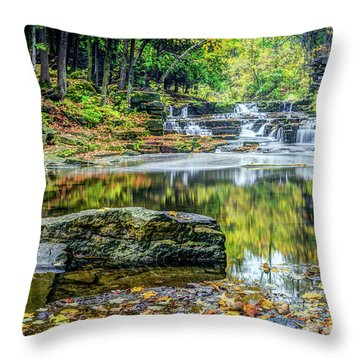 Devils River 3 Throw Pillow