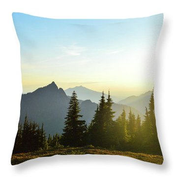 Dickerman Sunset Throw Pillow