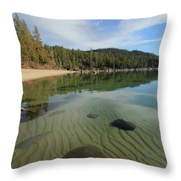 Throw Pillow featuring the photograph Do You Speak The Language Of Sands by Sean Sarsfield