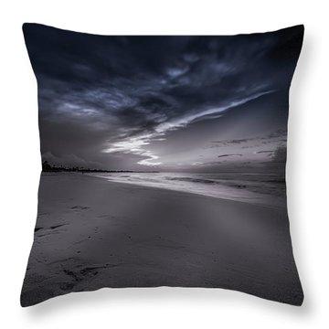 Dominicana Beach Throw Pillow