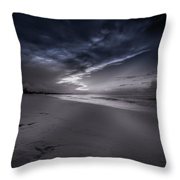 Dominicana Beach Throw Pillow