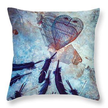 Don't Cage Me In Throw Pillow