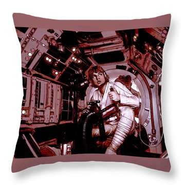 Don't Get Cocky, Kid Throw Pillow