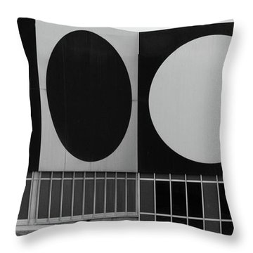 Throw Pillow featuring the photograph Dot Building by Matthew Bamberg