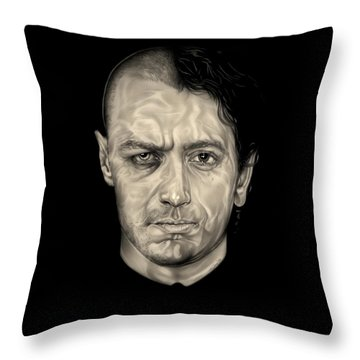 Double Jeopardy Throw Pillow by Fred Larucci