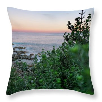 Down To The Water Throw Pillow