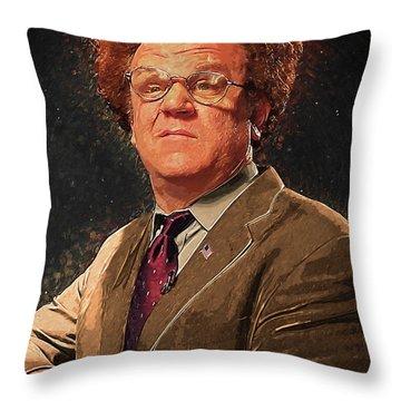 Dr Steve Brule Throw Pillow