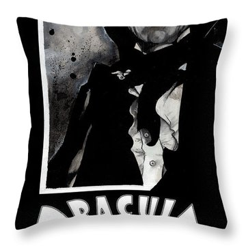 Dracula Movie Poster 1931 Throw Pillow