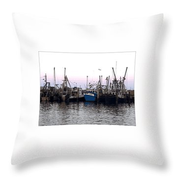 Throw Pillow featuring the digital art Dragger Painting by Newwwman